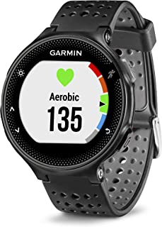 Garmin Forerunner 235, GPS Running Watch, Black/Gray