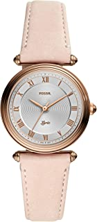 Fossil Lyric Women's Silver Dial Leather Analog Watch - ES4707