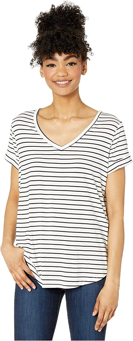 Jude Stripe White/Black
