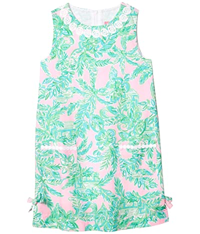 Lilly Pulitzer Kids Little Lilly Classic Shift Dress (Toddler/Little Kids/Big Kids) (Mandevilla Baby Pink Sand Paradise) Girl