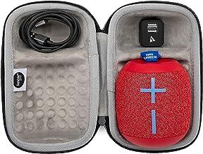 Ultimate Ears WONDERBOOM 2 Portable Waterproof Bluetooth Speaker (Radical Red) with Knox Gear Padded Protective Case, 6 ft...