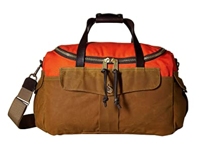 Filson Heritage Sportsman Bag (Orange/Dark Tan) Bags