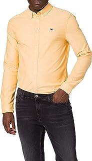 Tommy Jeans TJM Slim Stretch Oxford Shirt Camisa para Hombre