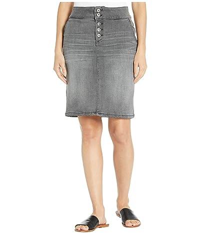 Prana Aubrey Denim Skirt (Grey Denim) Women