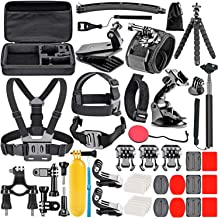 Neewer 50-In-1 Action Camera Accessory Kit Compatible...