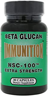Nutritional Supply Corp Immunition NSC 100 Beta Glucan Extra Strength - 10 mg - 30 Capsules