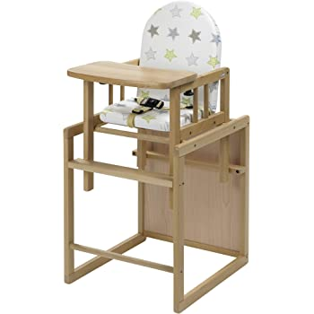 Geuther Nico Highchair, Stars, Natural