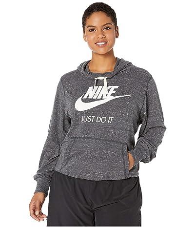 Nike Plus Size Sportswear Gym Vintage Hoodie HBR (Anthracite/Sail) Women