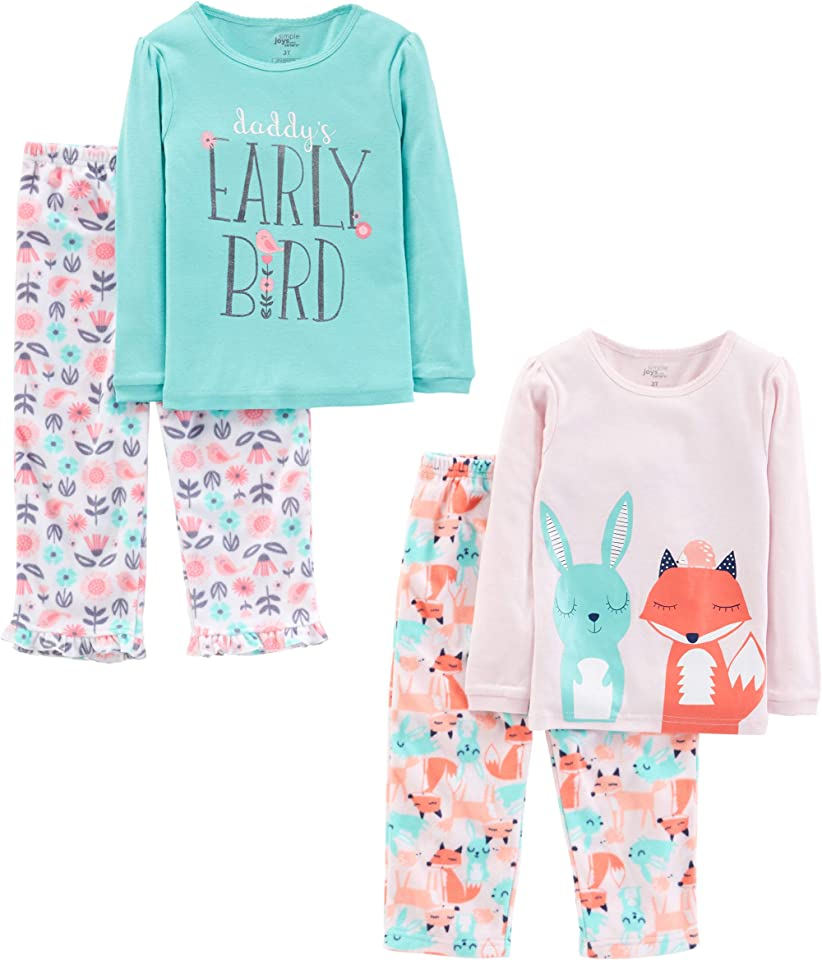 Girl's Pyjama Set, Pack of 4