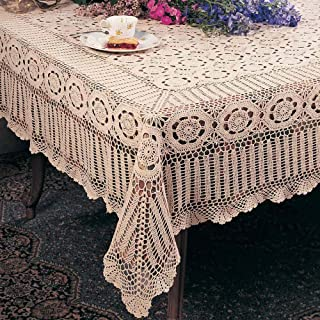Best hand crochet tablecloth Reviews