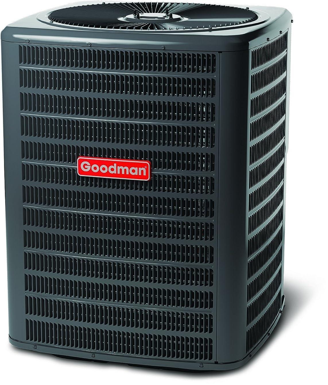 Goodman R410A 13 SEER Complete Split System Heat Pump 4 Ton GSZ130481, ARUF48D14