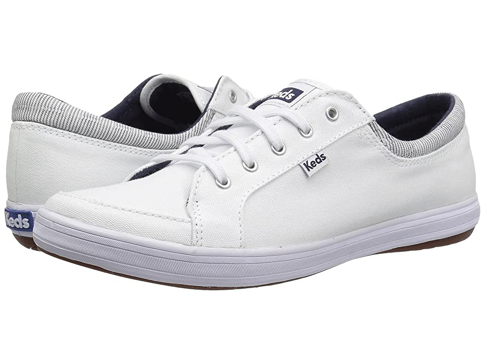 Keds Vollie II Chambray (White Canvas) Women