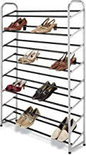 Whitmor 8 Tier Shoe Tower - 40 Pair - With Non-Slip Racks