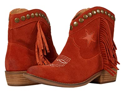 Dingo Lonestar (Rust Suede) Women