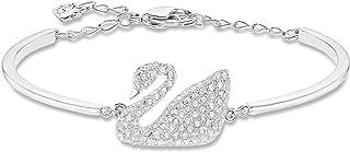 Swarovski Bracelet pour femme en forme de cygne avec cristaux Swarovski emblématiques, de la collection Swan