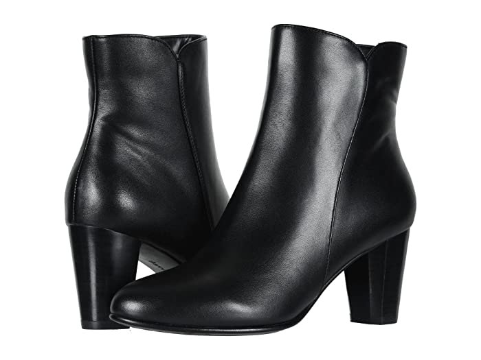 David Tate  Alexa (Black Calf) Womens Dress Pull-on Boots