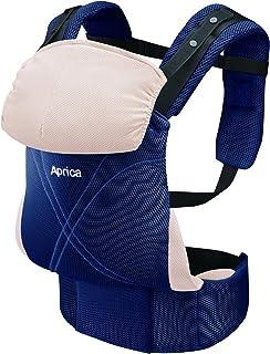 アップリカ(Aprica) だっこひも コラン ハグ AB コンフォート ネイビー NV (つかれにくい腰ベルトタイプ + 新生児シート同梱 + 5Wayタイプ) 39459 新SG対応モデル
