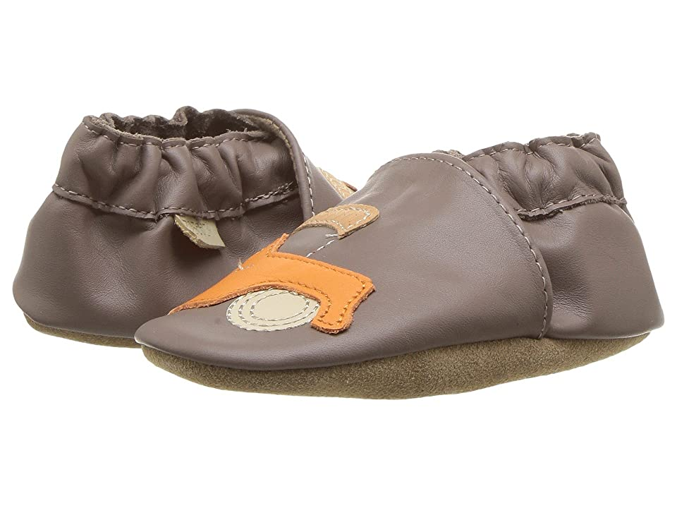 Robeez Life is an Adventure Soft Sole (Infant/Toddler) (Brown) Boy