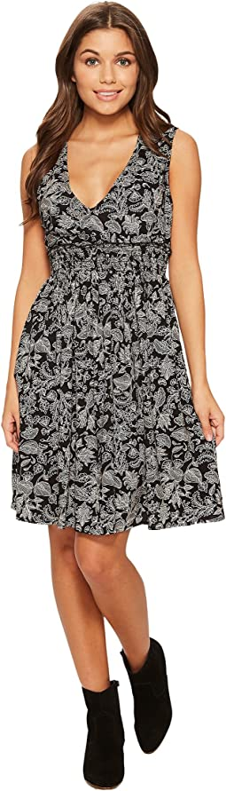 Roxy - Angelic Grace Printed Woven Dress