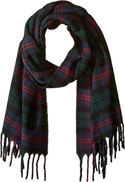 Oversized Blanket Plaid Scarf