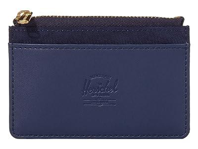 Herschel Supply Co. Oscar RFID (Peacoat) Wallet Handbags
