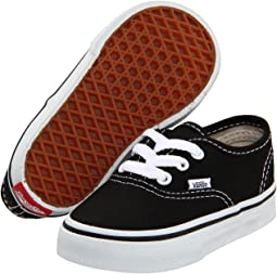 2c21bdb0bc1b36 Vans kids authentic elastic lace toddler elastic lace black true ...