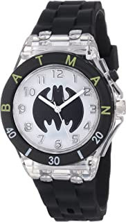 Batman Kids' BAT9078 Black Flashing Dial Watch