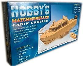 Matchmodeller Cabin Cruiser Matchstick Model Construction Craft kit -