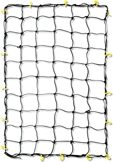 Tooluxe 50969L Adjustable Cargo Net, 36 x 60-Inch   16 Sturdy Nylon Hooks   Ideal for Moving, Camping, and Trucks