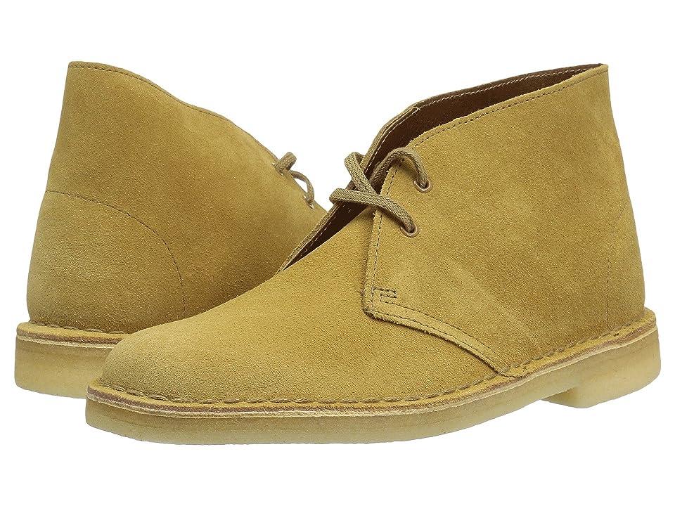 Clarks Desert Boot (Oak Suede) Women