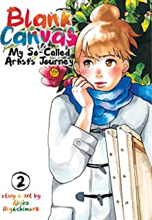 Blank Canvas: My So-Called Artist's Journey (Kakukaku Shikajika) Vol. 2