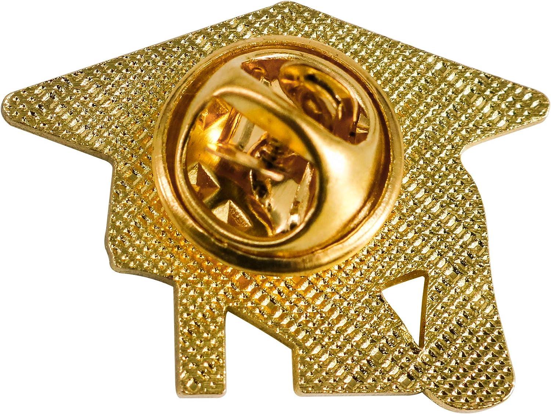 GraduationMall Zinc Alloy Graduation Souvenir 2020 Lapel Pin Badges