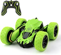 Rodzon Electric RC Stunt Car 2WD Off Road Remote Control Vehicle 2.4Ghz Racing Slot Cars High Speed 7.5Mph 360° Rolling Rotating Rotation(Battery Not Included)