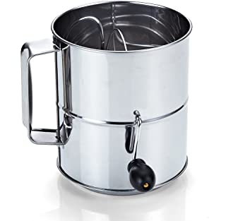 Best cook n home stainless steel 8-cup flour sifter Reviews