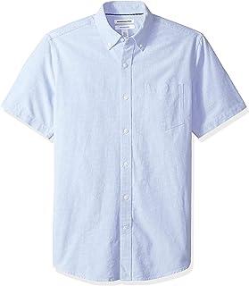 Men's Regular-Fit Short-Sleeve Pocket Oxford Shirt