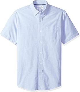 Men's Regular-Fit Short-Sleeve Pocket Oxford Shirt