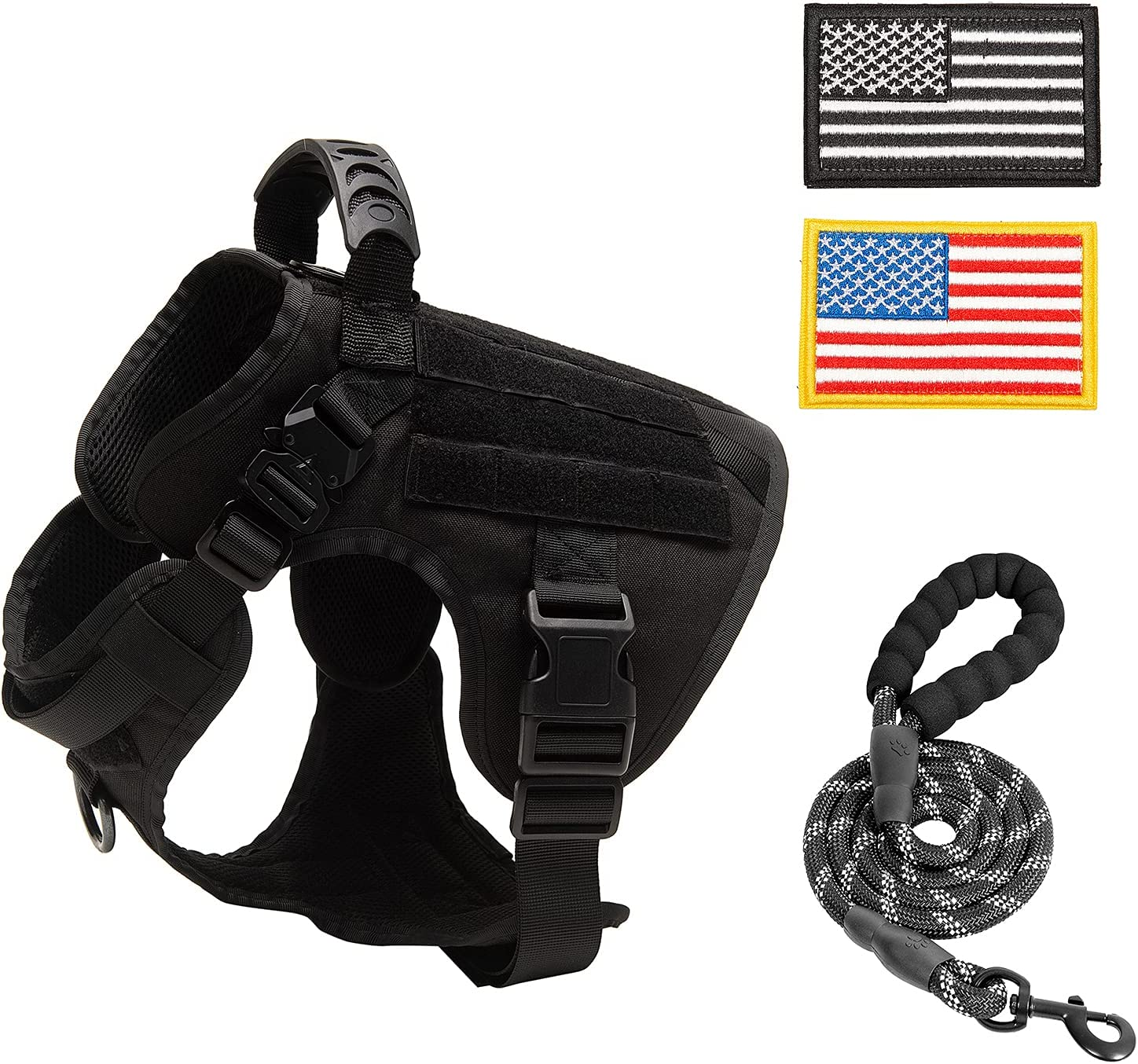 PINA Tactical Dog Harness for Large Pull No Ve Service Safety Dallas Mall and trust Dogs
