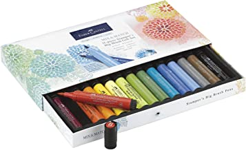 Faber Castell Pitt Artist Pen Stamper's Big Brush Marker Gift Set, 15 Assorted