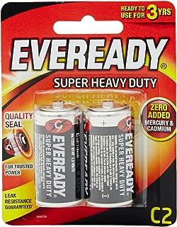 Eveready Super Heavy Duty 1235BP-2 C, 2ct