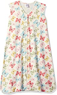 Touched by Nature Baby Organic Cotton Sleeveless Wearable Sleeping Bag, Sack, Blanket, Butterflies, 0-6 Months