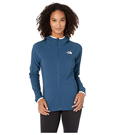 The North Face Apex Nimble Hoodie (Blue Wing Teal/Blue Wing Teal) Women