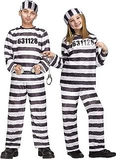 Fun World Convict Jailbird Child Costume (Medium)