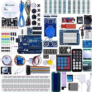 ELEGOO UNO R3 Ultimate Starter Kit Compatibel met Arduino IDE Volledig Elektronica Project Bouwdoos met Duitse Tutorial, U...