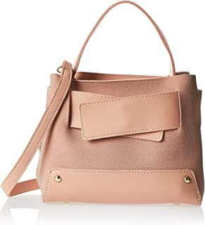 Inoui satchel bag for women-BJXB379C- Pink