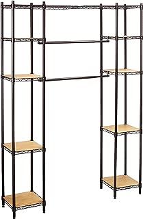 Trinity Expandable Closet Organizer Dark Bronze,