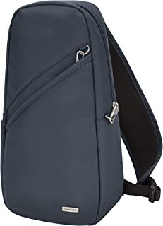 Travelon Travelon at Classic Sling Bag, Midnight (Blue) - 42887 360