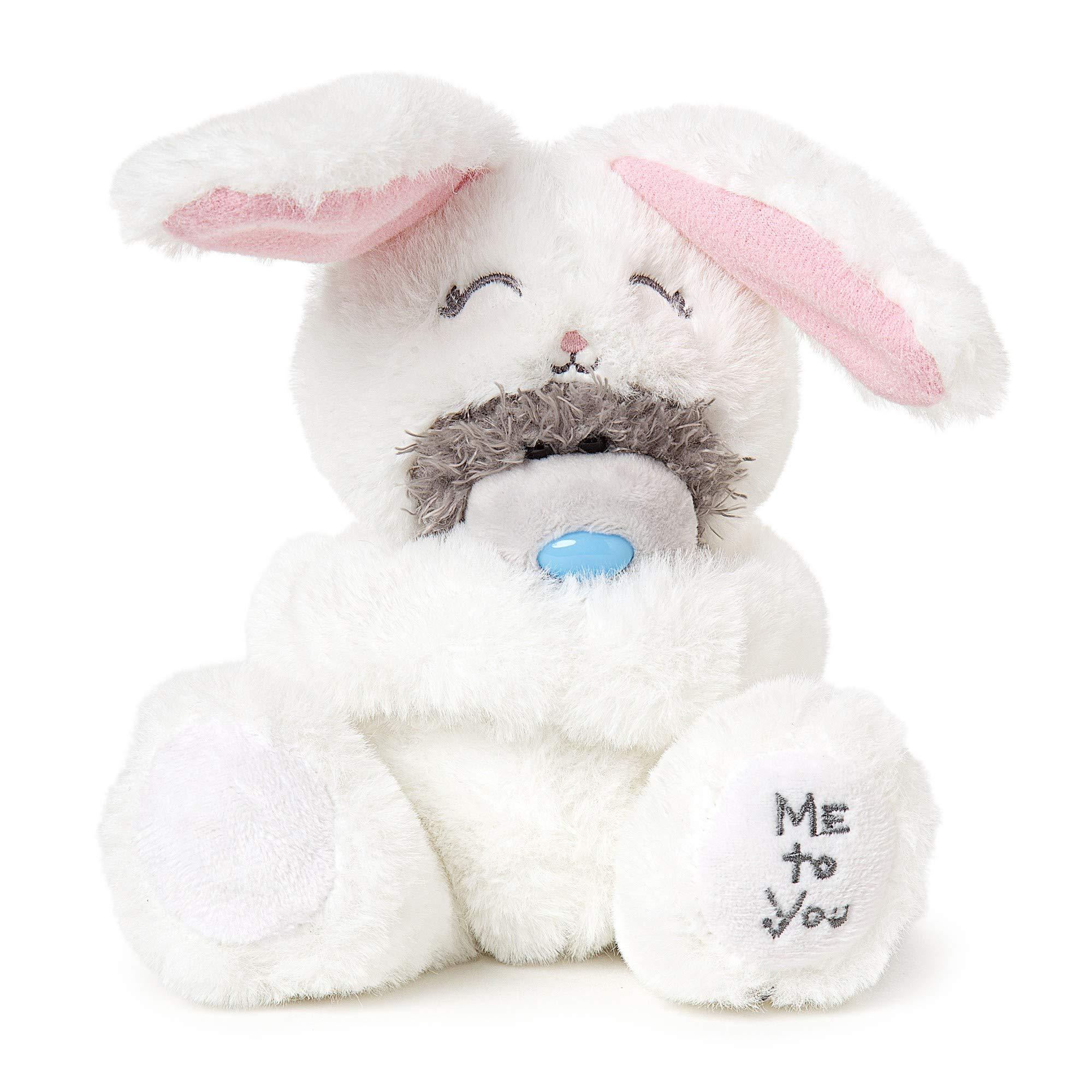 Me To You AP701048 Oso de Peluche con Conejo Blanco: Amazon.es: Juguetes y juegos