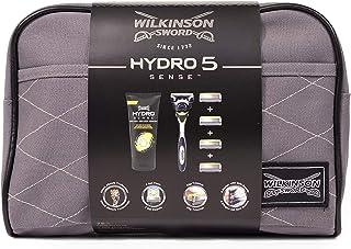 Wilkinson Sword Hydro 5 Sense Giftset 7Pc(1Xrazor;4Xblades;1X177Mlshavegel;1Xbag)(En;De;Fr;ES)