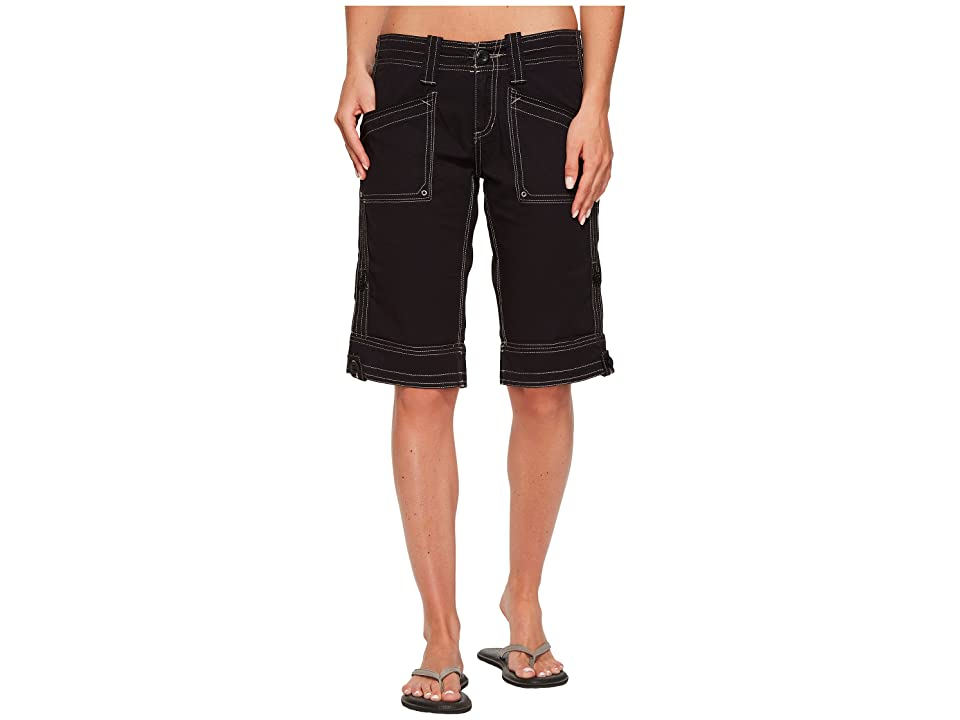 Aventura Clothing Arden Standard Rise Short (Black) Women's Shorts