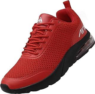 Mishansha Zapatillas de Running para Hombre Mujer Transpirables Zapatos de Deportes Comodos Ligero Sneakers Unisexo